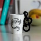 Kubek Muzyka - Klucz wiolinowy