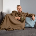 Blanket dressing gown - Cappuccino