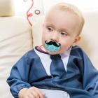 Baby Gentleman - Śliniak z rękawami