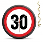 30th Birthday Clock - Exceed the limit - silent mechanism