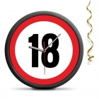 18th Birthday Clock - Exceed the limit