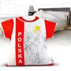 Pakiet Kibica - Poduszka + Flaga + Pokrowce + Pałki (4x10szt)