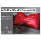 Poduszka Gigantyczna Kokarda - Czerwona