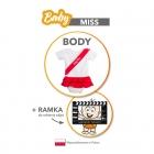 Baby Miss - Bodysuit - Size 68
