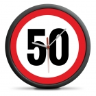 50th Birthday Clock - Exceed the limit