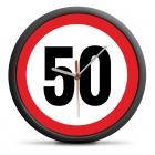 Zegar urodzinowy 50 - Przekrocz limit