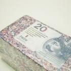 Brykiet z pieniędzy