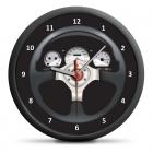 Závodní hodiny - tichý mechanismus