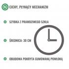 Maths clock - silent mechanism