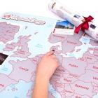 Mapa Zdrapka dla Dwojga