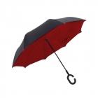 Parasolka Suprella Pro - Czarno - czerwony