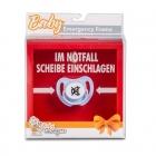 Baby Emergency Frame - Scheibe einschlagen (DE)