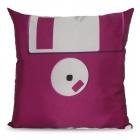 Floppy Disc Pillowcase - Violet