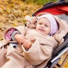 Baby Wrapi Active - Kocyk z rękawami - Toffi