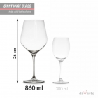Giant Wine Glass diVinto - Diamond