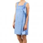 Ręczniko-Szlafrok - Niebieski