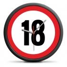 Zegar urodzinowy 18 - Przekrocz limit - cichy mechanizm