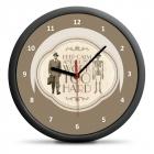 Retro Clock - Keep Calm (EN)