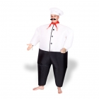 Inflatable Chef suit
