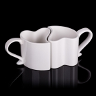 Love mugs - White