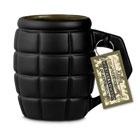Giant Grenade Mug - Black