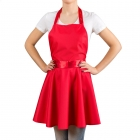 Nitly Red - Dress Apron