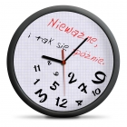 Zegar dla spóźnialskich - cichy mechanizm