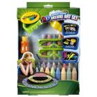 3D sidewalk chalk - deluxe set