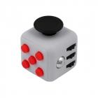 Fidget Cube - Szaro - czerwony