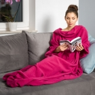 Blanket dressing gown - Fuchsia