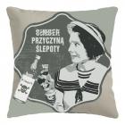 Retro Pillowcase - Bimber przyczyną ślepoty (PL)