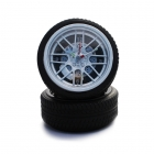 Wheel clock - Black