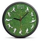Fotbalové hodiny - tichý mechanismus