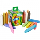 Washable Sidewalk Chalk - 24 pcs