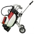 Wózek golfowy z długopisami - Czerwony