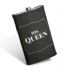 Giant hip flask - His Queen
