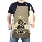 Kuchyňská Retro Zástěra - Yes We Can (EN)
