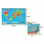 Puzzle Mat - World Map (EN)