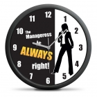Clock for manageress (EN)