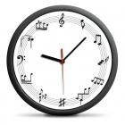 Hudební hodiny - tichý mechanismus