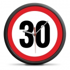 30th Birthday Clock - Exceed the limit