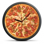 Zegar Pizza - cichy mechanizm