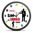 Clock for Boss (PL) - silent mechanism