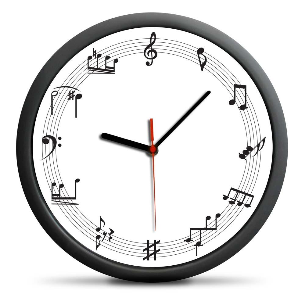 Zegar Muzyka - cichy mechanizm