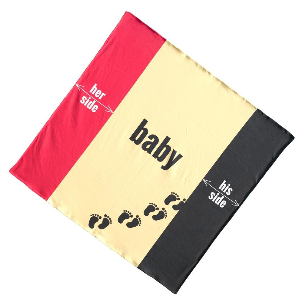 Ręcznik rodzinny - Her His Baby