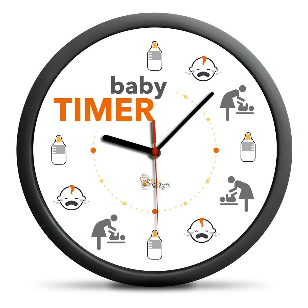 Zegar Baby Timer - cichy mechanizm