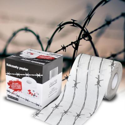 Toilet paper Barbed Wire
