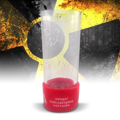 Radioaktives Glas - Gelb