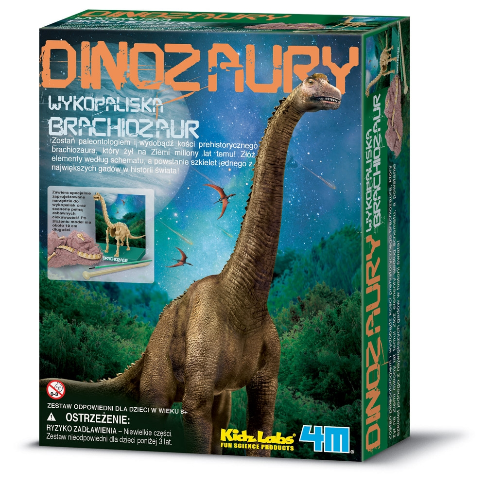 Wykopaliska - Brachiozaur