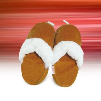 A heating slippers<br>to USB